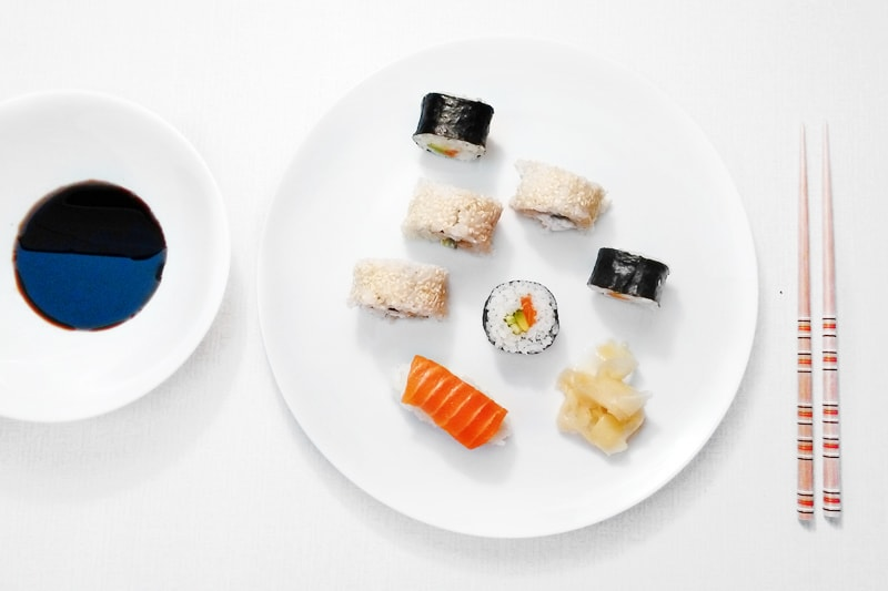 Domácí výroba sushi - Bajola