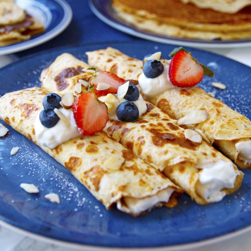 Fitness jogurtové palačinky - recept Bajola