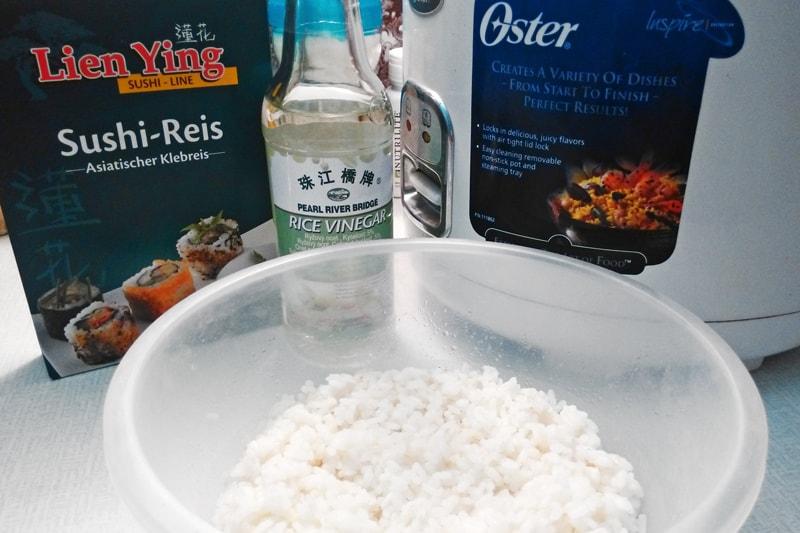 Jak připravit rýži na sushi - recept Bajola