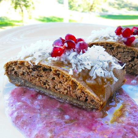 Fitness celozrnný jablečný štrúdl - zdravý recept Bajola