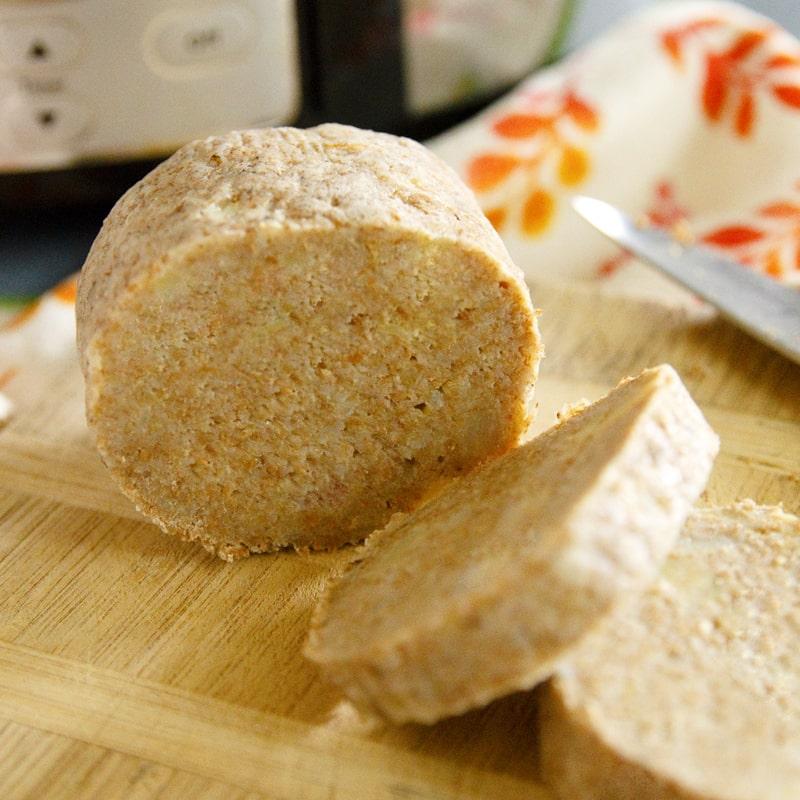 Fitness celozrnný bramborový knedlík - zdravý recept Bajola