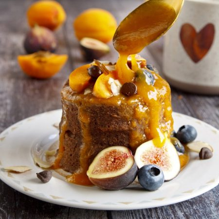Fitness kakaový mugcake - recept Bajola
