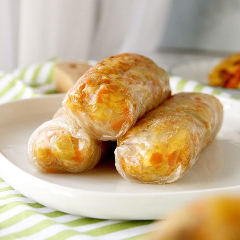 Fit smažené jarní závitky čínské - recept Bajola