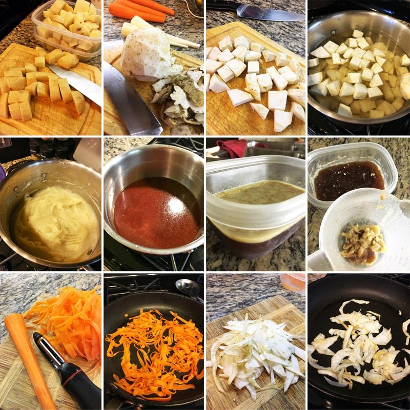 Bramborovo celerové pyré - zdravý recept Bajola