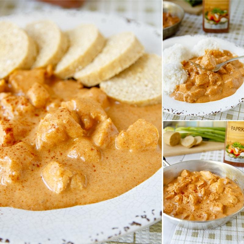 Zdravé kuřecí maso paprikáč - recept Bajola