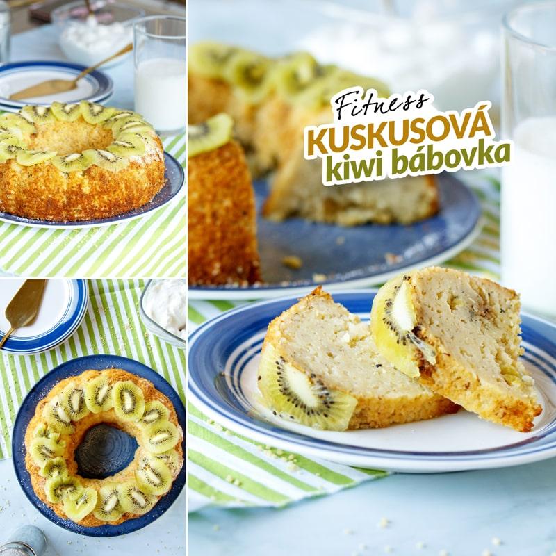 Fit bábovka kuskus kiwi - recept Bajola