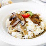 Fit houbové rizoto - recept Bajola
