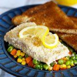 Fitness losos v sezamu - recept Bajola