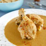 Fitness kuře na paprice - pomalý hrnec - zdravý recept Bajola