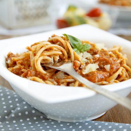 Fitness bolognské špagety - zdravý recept Bajola