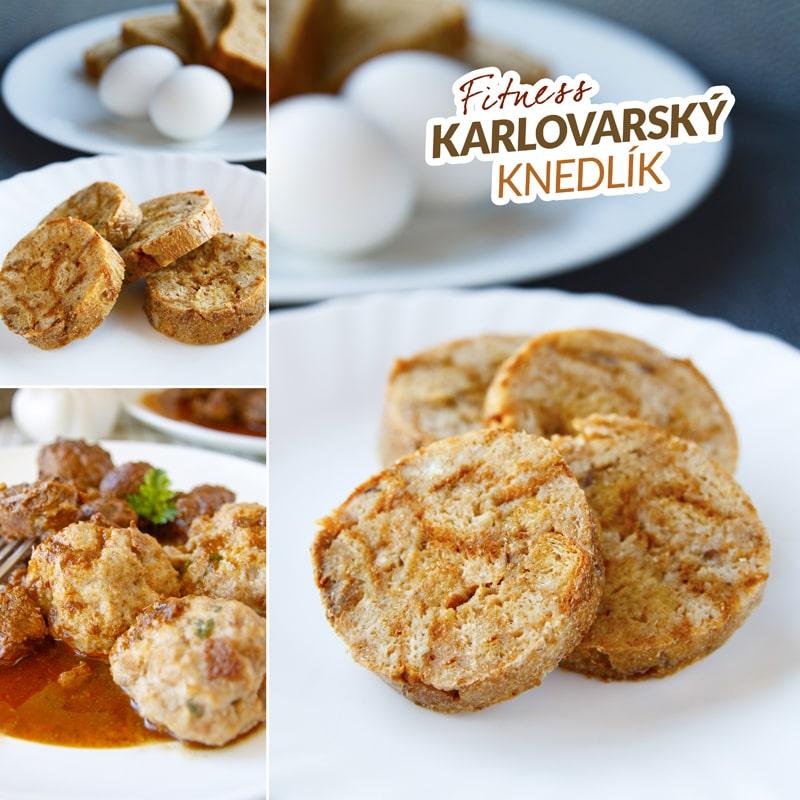 Zdravý karlovarský knedlík - recept Bajola