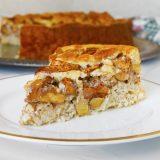 Fitness ovesný jablkový koláč - zdravý recept Bajola