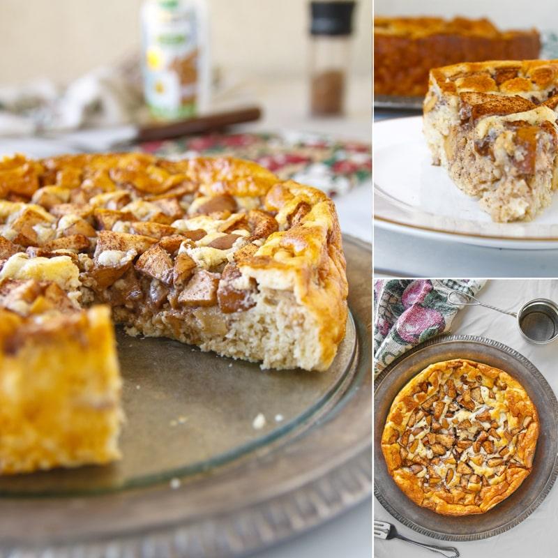 Zdravý jablečný koláč - fitness recept by Bajola