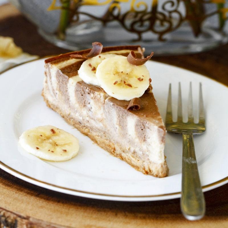Fitness zebra cheesecake - recept Bajola