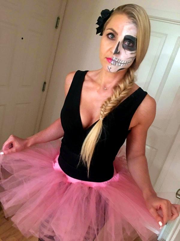 Halloween - kostým mrtvá baletka Bajola