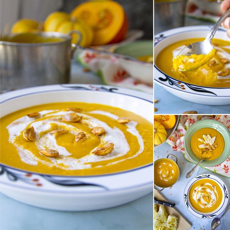 Zdravá dýňovo hrachová polévka - recept Bajola