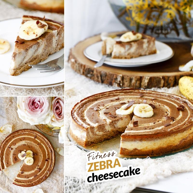 Zdravý tvarohový cheesecake - recept Bajola