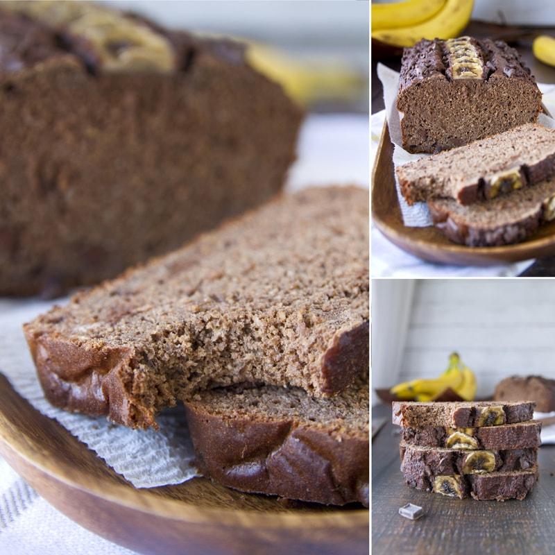 Fit banánový chleba - recept Bajola