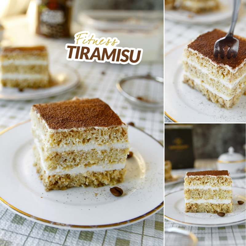 Fit tiramisu - recept Bajola