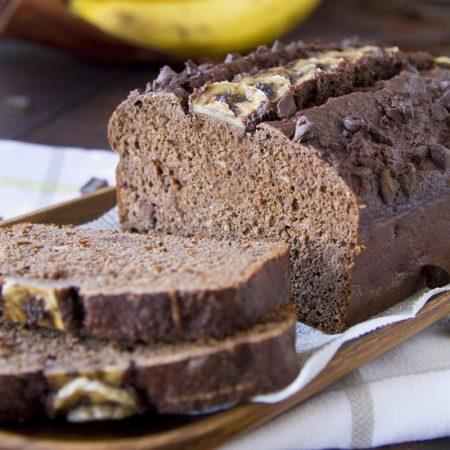 Fitness banánový chlebíček - recept Bajola