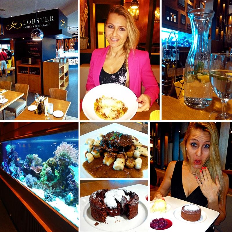 Lobster restaurant Olomouc - recenze Bajola