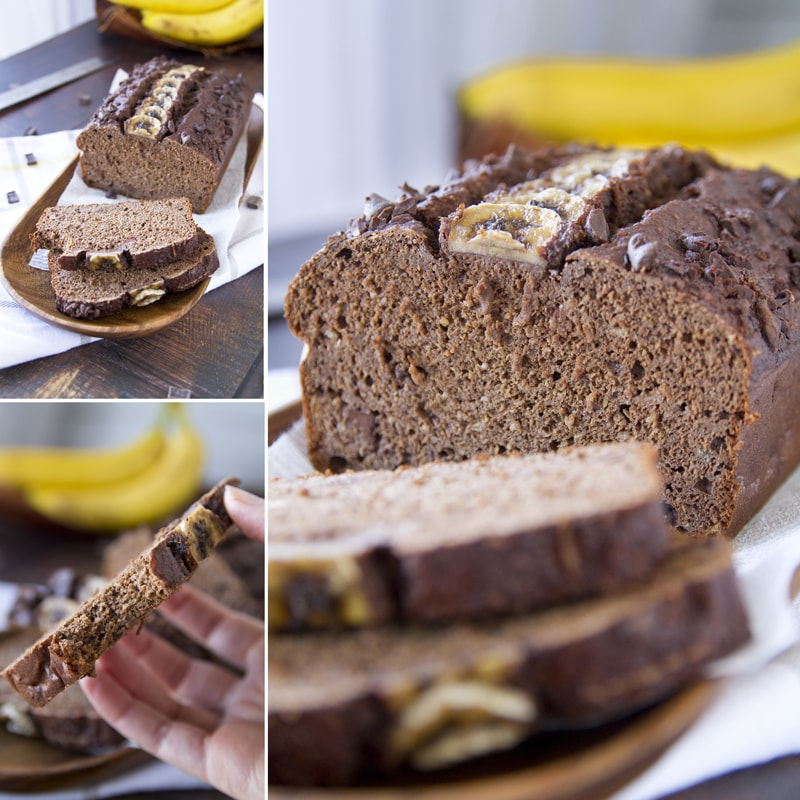 Zdravý banánový chlebíček - recept Bajola