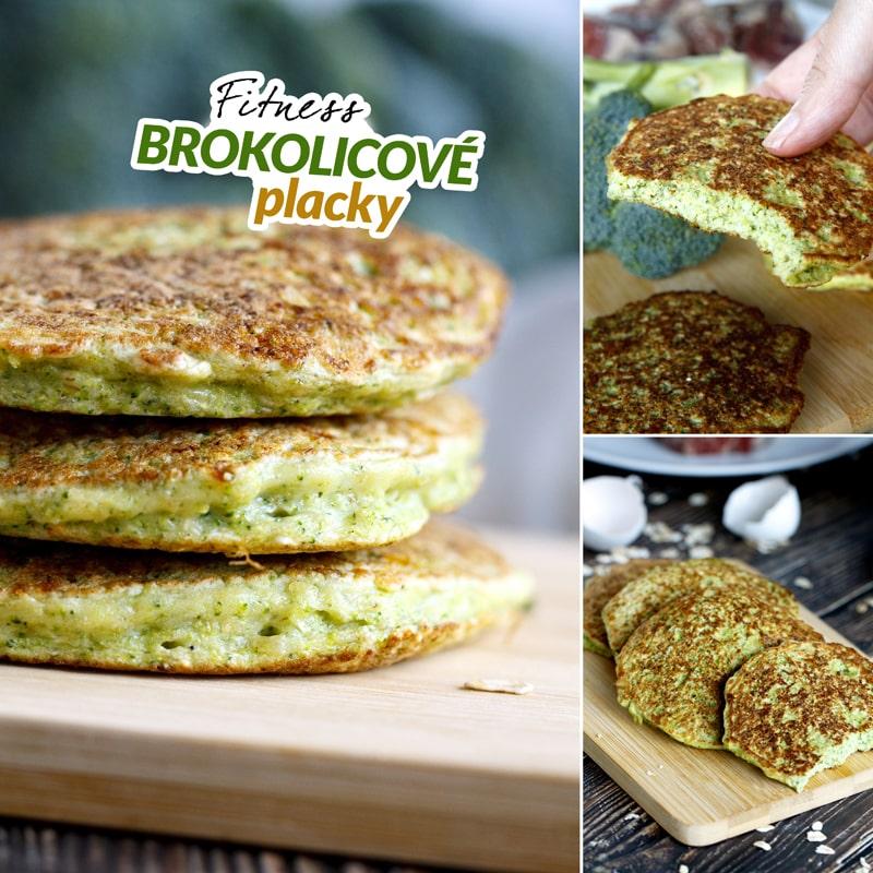 Fit brokolicové placky - recept Bajola