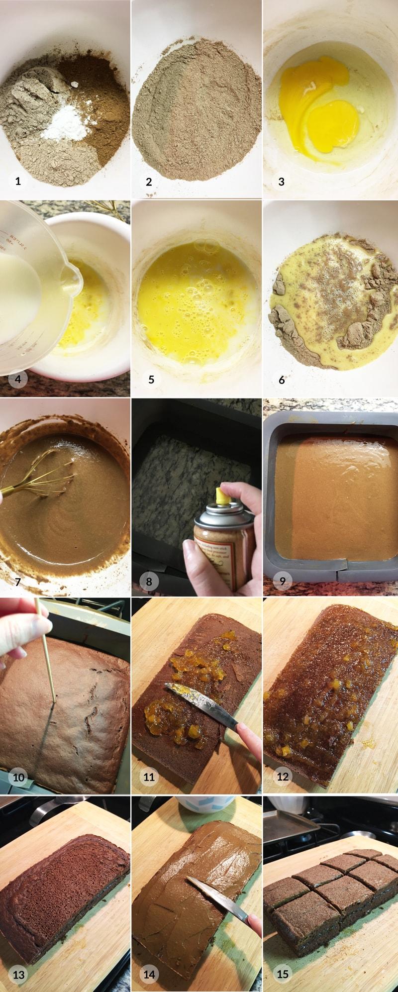 Fit perník foto postup receptu