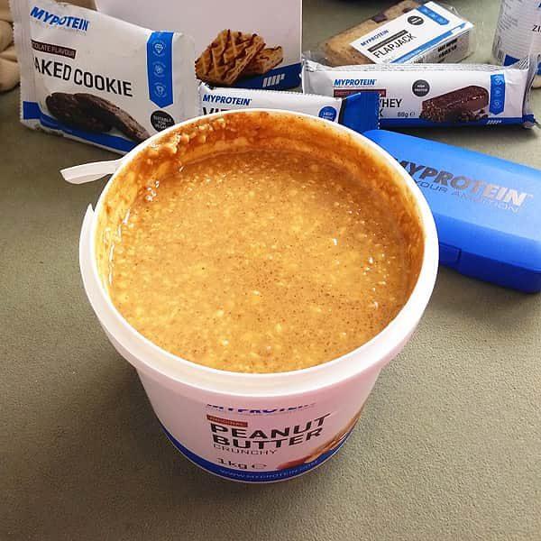 Arašídové máslo MyProtein crunchy