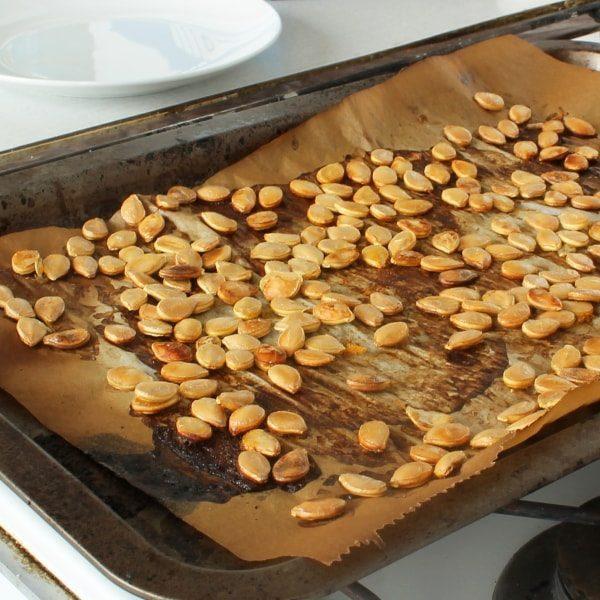 Jak usušit dýňová semínka z dýně Hokaidó
