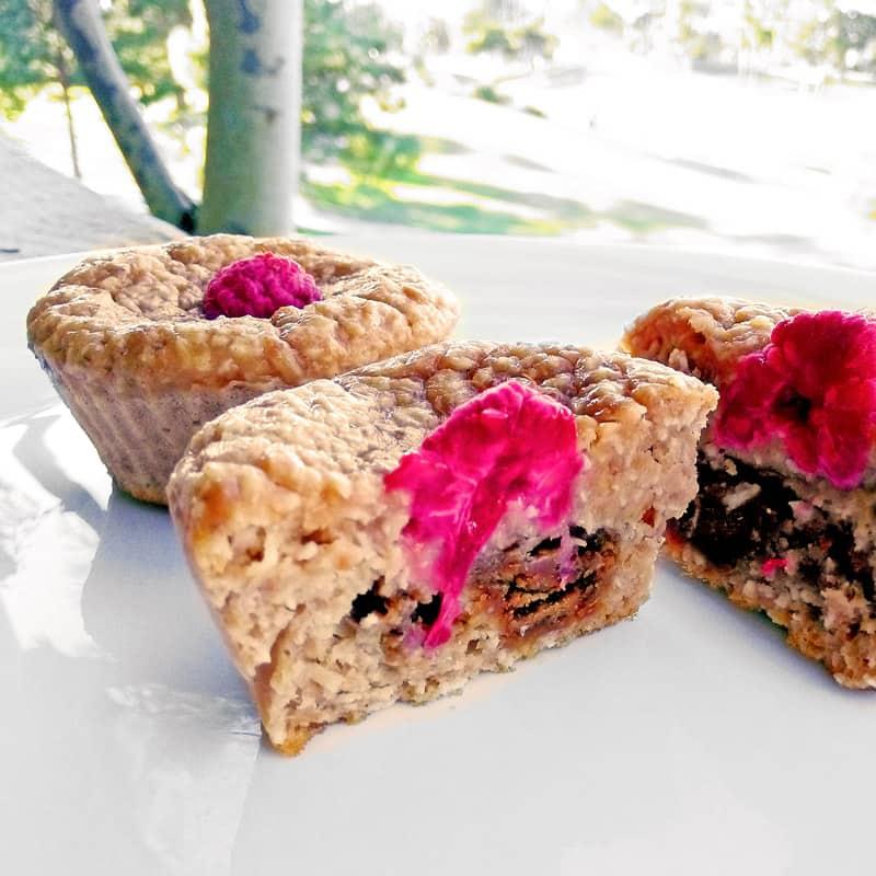 Fitness tvarohové muffiny - zdravý fit recept
