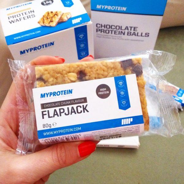 Proteinový flapjack MyProtein