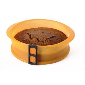 Silikonová forma na dort se skleněným dnem 23 cm průměr