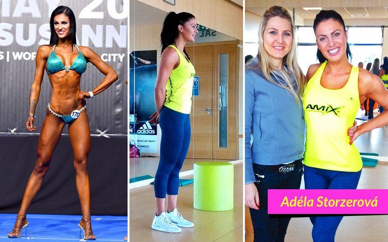 Seminář s bikini fitness Adélou Storzerovou Omega Olomouc 16. 4. 2017
