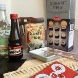 Potřeby pro domácí výrobu sushi