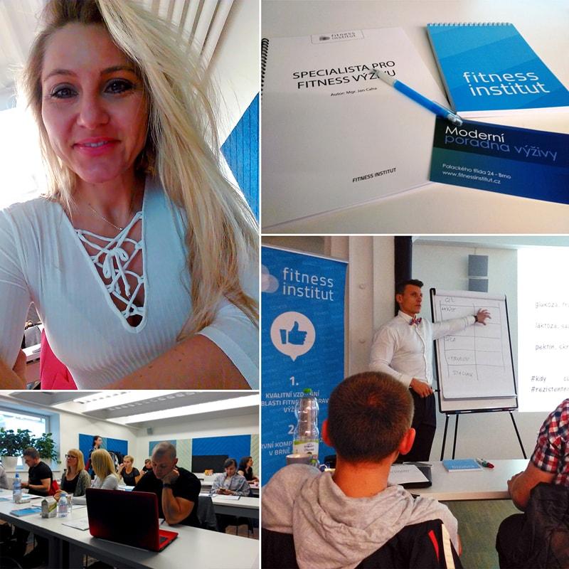 Seminář Specialista pro fitness výživu - FItness institut Brno - recenze