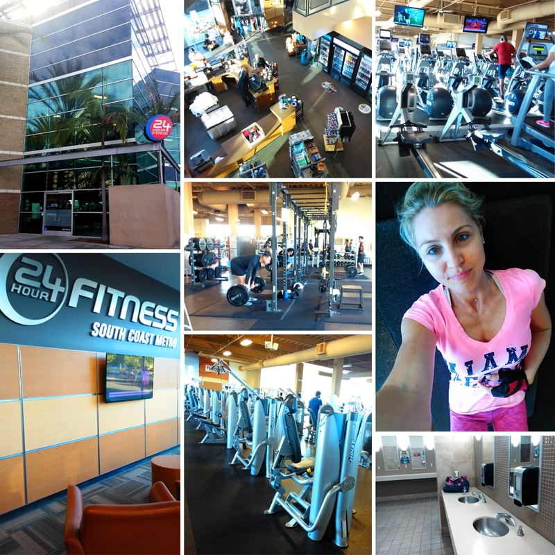 24 hour fitness, Costa Mesa, CA