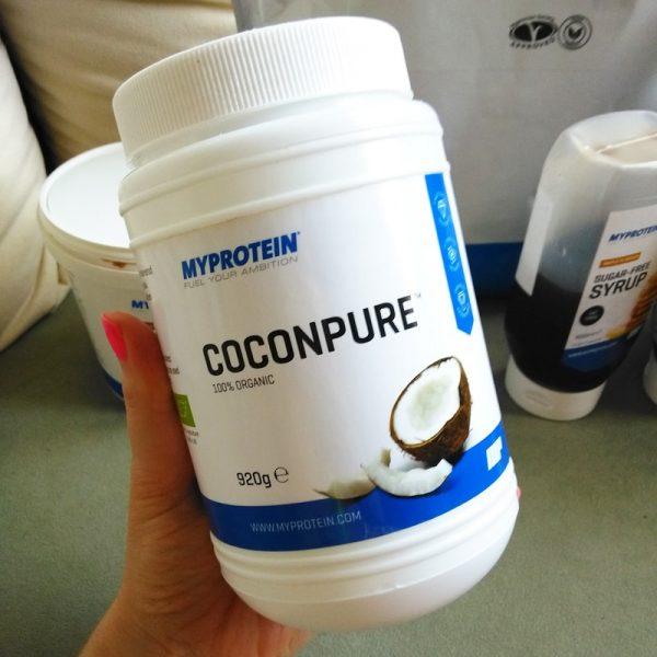 Bio panenský kokosový olej Coconpure MyProtein