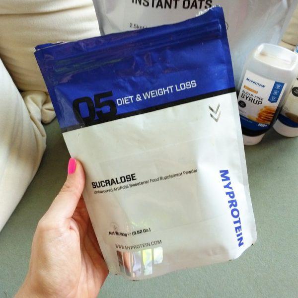 Umělé sladidlo sukralóza MyProtein