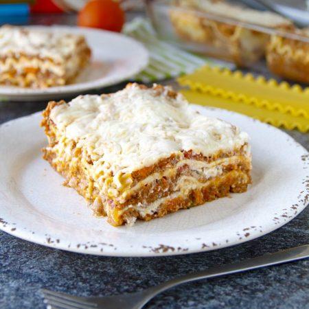 Fitness lasagne - recept Bajola