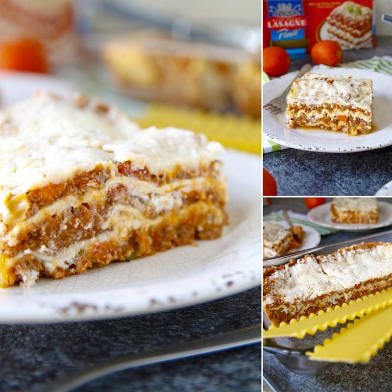 Lasagne - fit zdravý recept Bajola