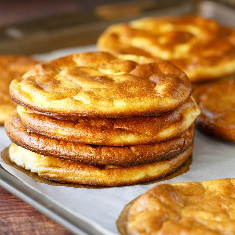 Oopsie bread fit lowcarb pečivo bez mouky - recept Bajola