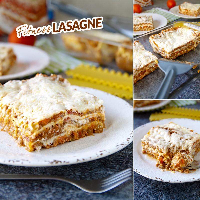 Zdravé fitness lasagne - recept Bajola