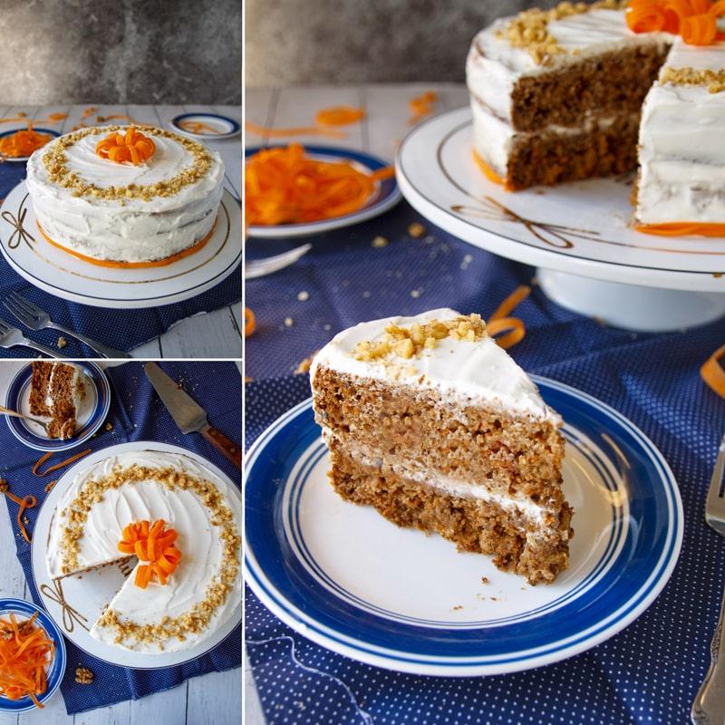 Zdravý mrkvový dort - recept Bajola