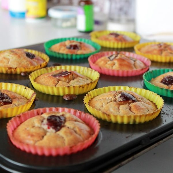 Fitness cuketové muffiny se švestkami - zdravý recept