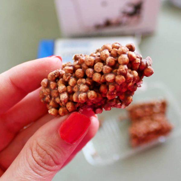Protein clusters MyProtein čokoládové
