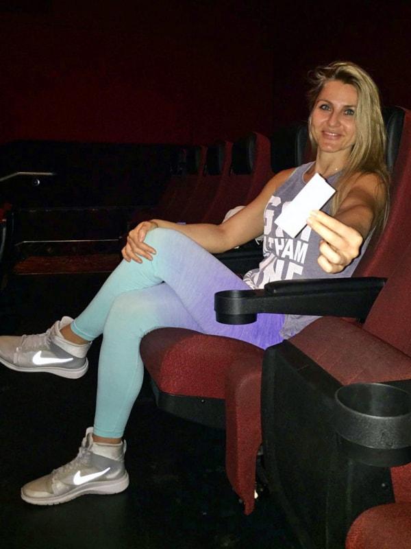 V kině v USA