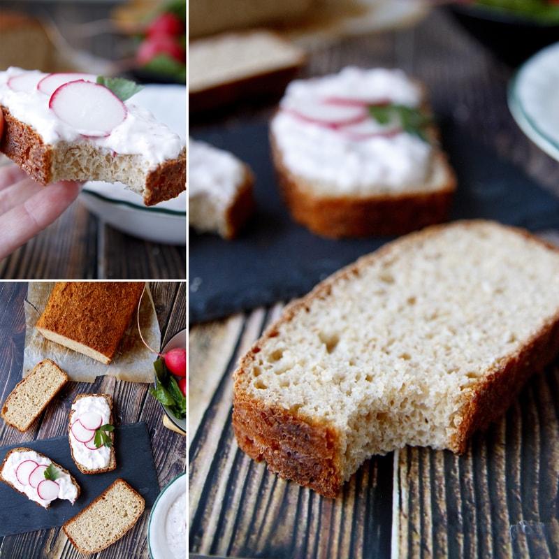 Fit celozrnný chleba z jogurtu - recept Bajola