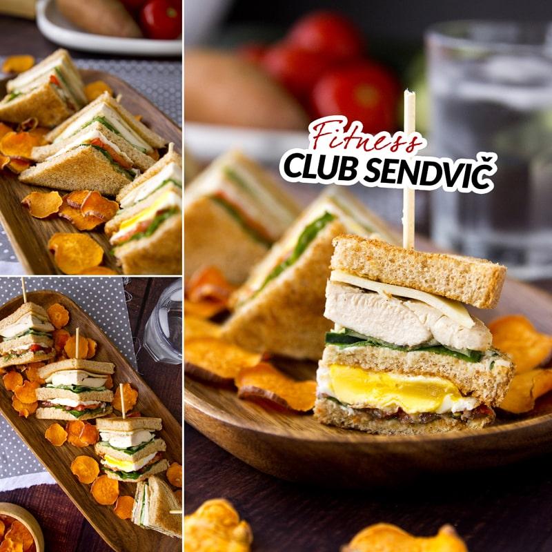 Fit club sendvič - recept Bajola
