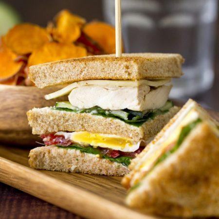 Fitness club sendvič - recept Bajola